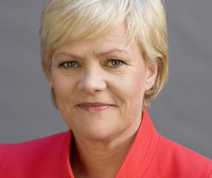 Minister of Finance Kristin Halvorsen. Photo Regeringen.