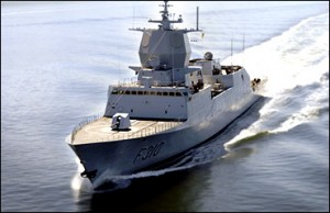 Norwegian frigate KNM Fridtjof Nansen. Photo: The Norwegian Navy.