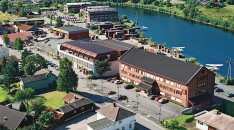 The Hvittingfoss plant. Photo: Kongsberg Automotive.