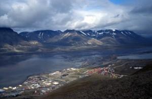 Longyearbyen, Svalbard. Photo Wikipedia