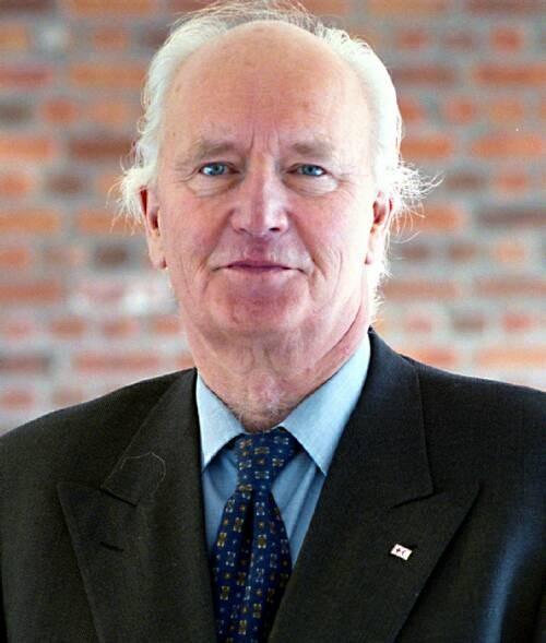 Thorvald Stoltenberg. Photo: Werner Anderson/Cox Nissen-Lie.