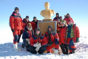 The Norwegian-US Traverse team.