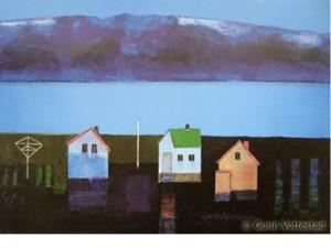 """Noraførr"" by Gunn Vottestad, Lithography, 59 X 84,5 cm"