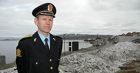 Håkon Skulstad, East Finnmark Police District. Photo: The Barents Observer.