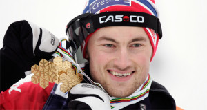 Petter won his third Gold. Photo: www.skiforbundet.no.