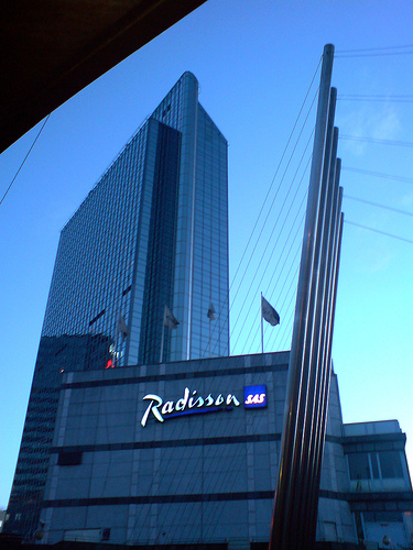 Radisson-SAS Hotel, Oslo, Norway. Photo: Flickr.