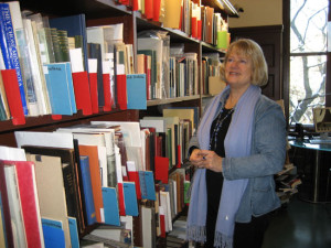 Dina Tolfsby is the curator at the Norwegian-American Collection at the National Library of Norway.