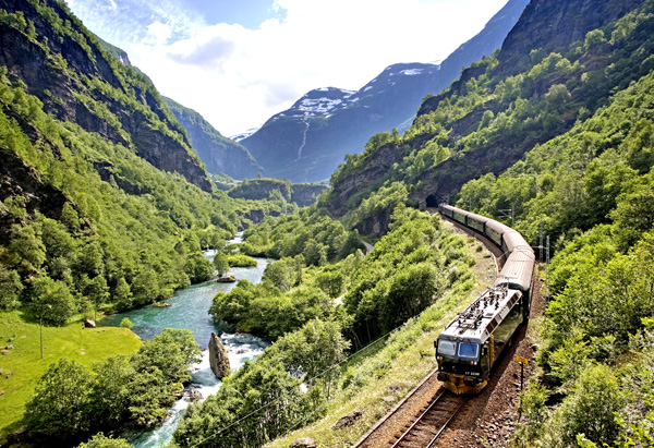 Flåm Railway. Photo courtesy of Visit Flåm