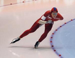 Håvard Bøkko during the World Championships 2007 in Heerenveen. Photo: Wikipedia.