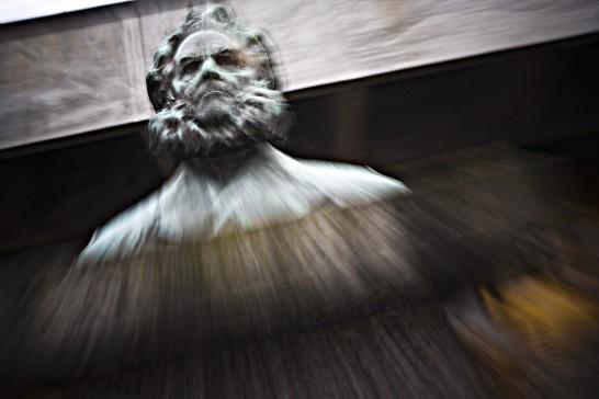 Ibsen in Skien. Photo by Dag Jenssen.