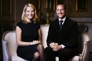 Their Royal Highnesses The Crown Prince and Crown Princess. Photo: Jo Michael, The Royal Court