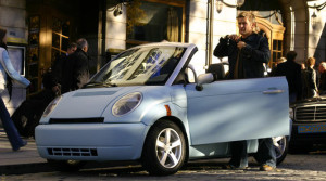Both Stordalen and Hagen has invested in the electrical car Think. Photo: Think.no