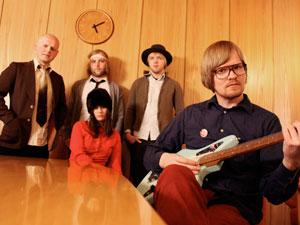 Five-piece Norwegian band, I Was A King. Photo: Silje Andersen