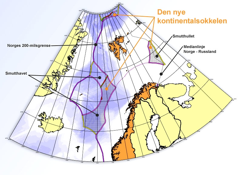 Norwegian Continental Shelf in the High North. Photo: Aftenposten.
