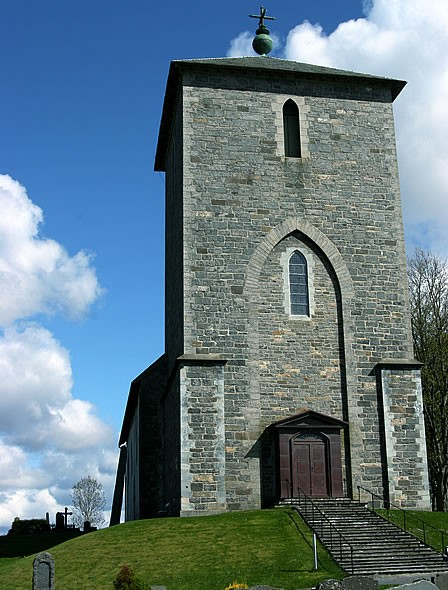 St. Olavs Church at Avaldsnes. Photo by Geir Akselsen.
