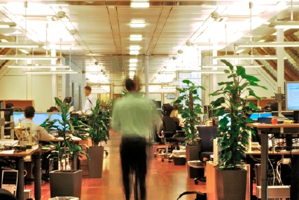 Trading room at NBIM, Photo: Norges Bank.