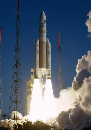 Ariane 5 - ARIANE 5 ECA: flight 164 - 12 february 2005