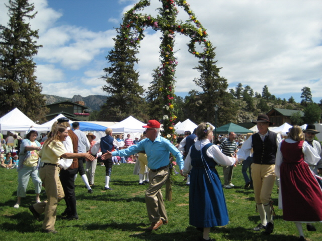 Join in the fun at the Scandinavian Festival in Estes Park, Colorado!