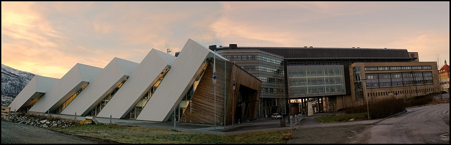 The Polar Environmental Center and Polaria in Tromsø. Photo by Andrea Taurisano