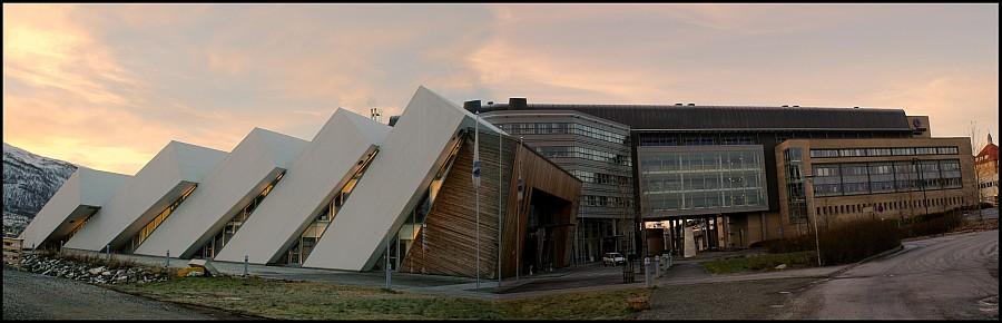 The Polar Environmental Center and Polaria in Tromsø. Photo by Andrea Taurisano