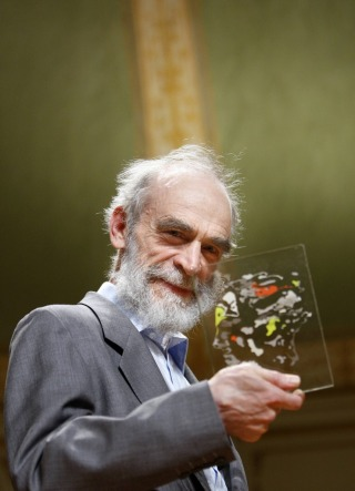 Mikhail Gromov has received the Abel Prize. Foto: Erlend Aas/Scanpix