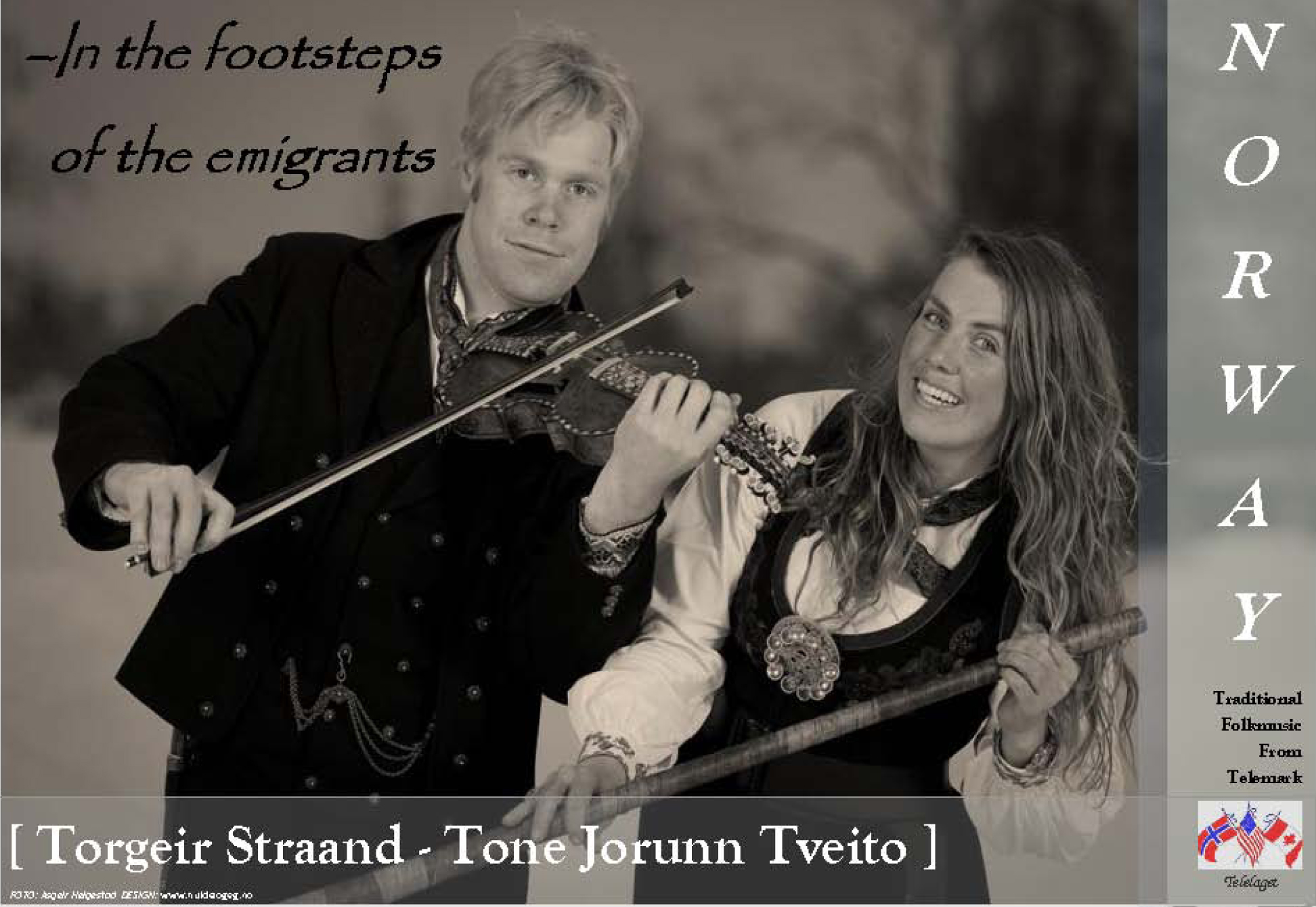 Tone Jorunn Tveito and Torgeir Straand are featured performers at this year's 7-lag stevne in River Falls, Wisconsin