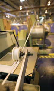 TOUGH: Hydro is the leading supplier to the automotive industry of aluminium bumper beams and precision tubing. Photo: Hydro.com