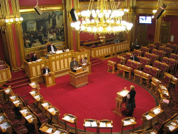 The Norwegian Parliament.