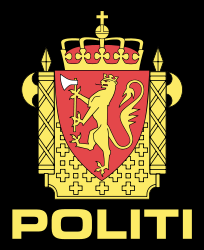 Badge of the National Police Directorate. Photo: Wikipedia.