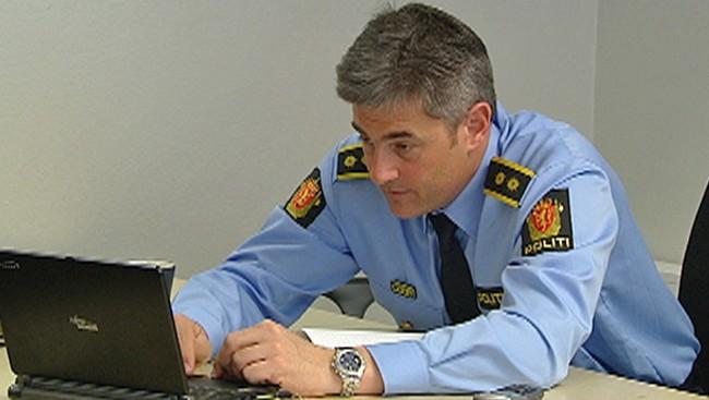 John Ståle Stamnes in KRIPOS. Photo: NRK