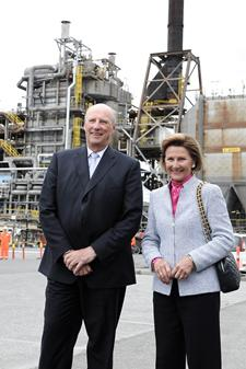 Norway's King Harald and Queen Sonja.Photo: Helge Hansen / StotoilHydro.com