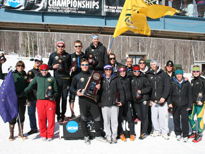Kollenborg and Adde will join the Seawolves after a historic season where they placed a program-best 4th place at the NCAAs. Photo: Lincoln Benedict