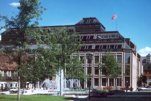 Norges Bank, Oslo.