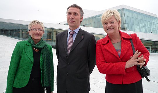 Jens Stoltenberg's second government was appointed by King Harald V on 17 October 2005.