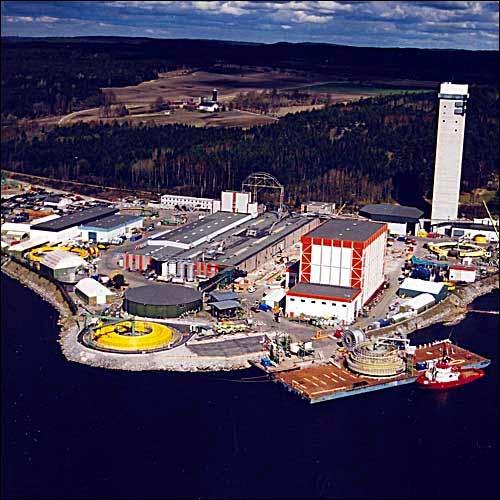 Nexans' Power Plant in Halden, Norway.