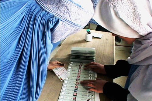Afghanistan Elections 2004. Photo: Wikipedia.