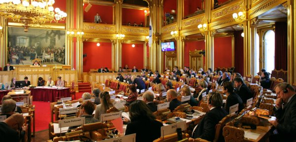 Stortinget (The Grand Assembly). Photo: Magnus Fröderberg/norden.org