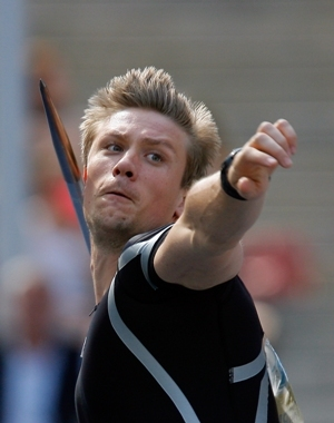 Andreas Thorkildsen of Norway.(Picture Alliance)