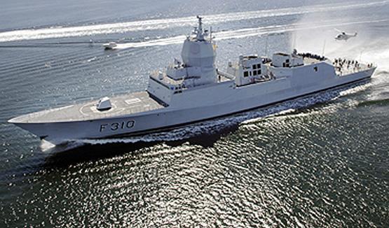 """Fridtjof Nansen"" joined the anti-piracy operations off the coast of Somalia on Aug. 14."