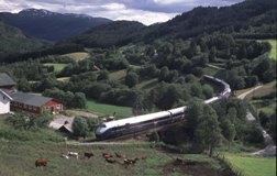 From the Bergen line. Photo: Rune Fossum
