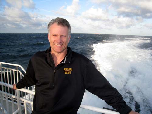 Researcher Scott Wolte. Photo: www.hookedx.com