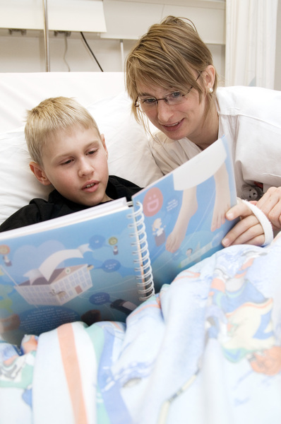 The Norwegian Hospital Book helps sick children - The ...