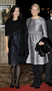 Two Crown Princesses, Princess Mary of Denmark and Princess Mette-Marit of Norway