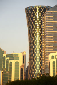"""BEST: Tornado Tower in Doha was honored as the """"best tall building"""" in the Middle East and Africa. (Photo: Halvor Molland)"""