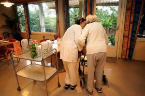 A number of nursing and nursing homes will be affected beginning the first day. Photo: Tor G. Stenersen