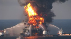 April 20 the Deepwater Horizion was hit by an explosion. NPD doubt that a similar blowout will take place outside Lofoten.