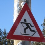 Yield for skier (Photo HB)