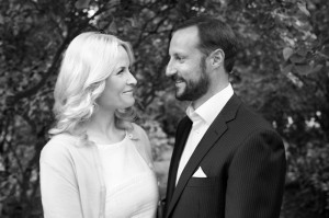 Their Royal Majesties Crown Prince Haakon and Crown Princess Mette-Marit
