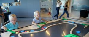 Children enjoying an exhibit at Inspiria Science Center