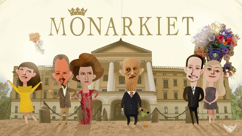 "The ""Monarkiet"" characters. Photo: Qvisten Animation."